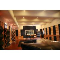 Buy cheap Eco Friendly Fabric Acoustic Panel , Sound Absorption Glass Wool Panel from wholesalers