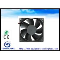 Wholesale 12V DC Brushless Fans12V DC Brushless Fans / 80*80*25mm Cooling Fans , Silent Cooling Fans with Jack from china suppliers