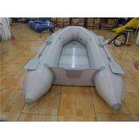 China 4 Person Green Kayak Pvc Inflatable Boat For Fishing Customized Color on sale