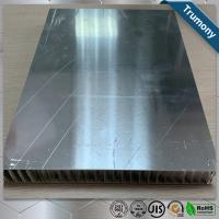 Wholesale Surface Brushed Aluminum Honeycomb Panels For Interior Exterior Wall Decoration from china suppliers