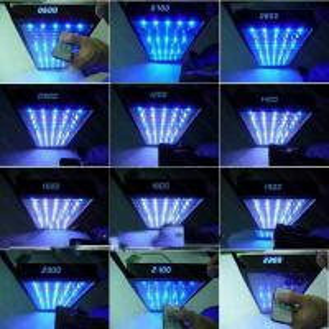 China led aquarium light for coral reef tank lighting on sale