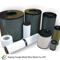 China Industrial Filter Stainless Steel Sintered Metal Mesh Filter for Sieve for sale