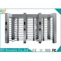 Wholesale Single Route Way Controlled Access Turnstile Full Height For Building Entrance from china suppliers