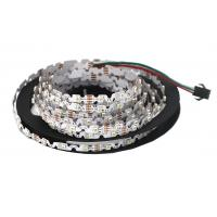 S Shape 6mm Width Flexible LED Strip Lights SMD 3528 Built In IC P923F WS2811 RGB for sale