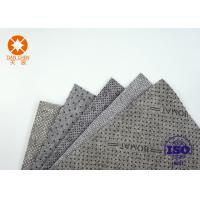 Wholesale CE Approval Non Slip Underlayment Felts PVC Coated 4m Width With Black / White Dots from china suppliers
