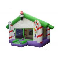Wholesale EN14960 0.55mm PVC Commercial Inflatable Bounce House With Jumper from china suppliers