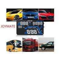 Wholesale Vehicle mounted black HUD Head Up Display with OBD Projection adaptive cruise control from china suppliers