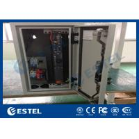 Wholesale Climate Controlled Cabinet Pole Mount Enclosure Cutomized DC48V Fans Cooling from china suppliers