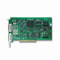 Wholesale H264 16CH Capture Card with Up to 36 DVRs Remote Side Control and IP Camera Connection from china suppliers