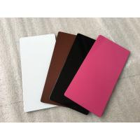 High Strength Purple Aluminium Composite Sheet Mould - Proof For Wallboard / Ceiling