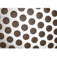 Wholesale 0.5mm Thickness Perforated Metal Mesh 304 /316 Stainless Steel Material from china suppliers