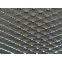Wholesale Iron Board Expanded Steel Mesh Sheets , ISO9001 Expanded Steel Grating from china suppliers