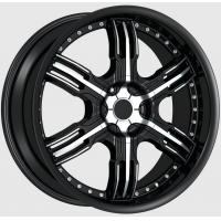 Wholesale 22 Inch 22 * 9.5 Chromed Black Alloy Wheels For Car from china suppliers