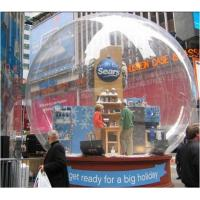 Quality Giant Clear PVC Inflatable Advertising Products Snow Ball for Christmas for sale