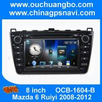 Wholesale Ouchuangbo audio DVD gps Mazda 6 Ruiyi 2008-2012 balck USB  aux SD MP3 free 2015 Chile map from china suppliers