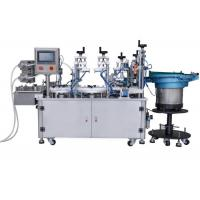 China Small Bottles Filling Capping Labeling Machines on sale