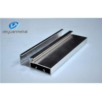 Wholesale 5.98 Meter Silver Polishing Aluminium Extruded Aluminium Profiles For Decoration With Cutting from china suppliers