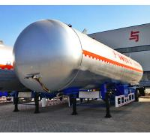 China LPG Tank Trailer, 59.6m3 LPG Tanker Trailer, LPG tank semitrailer, China
