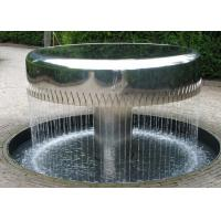 Wholesale Professional Stainless Steel Water Feature Fountains Mirror Polishing from china suppliers