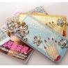 Buy cheap 2014 new female long  zipper wallet,damond wallet from wholesalers