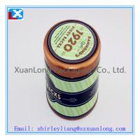 Wholesale Printed round coffee metal tin box from china suppliers