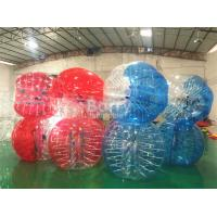 China Red Clear Human Inflatable Bumper Ball For Adults / Human Water Bubble Ball on sale