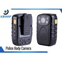 Wholesale Waterproof Body Worn Video Camera , GPS 3000mAh Police Pocket Camera from china suppliers