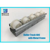Wholesale Slider Roller Track Type 40C Width 40mm Metal Frame for Conveyors and Flow Rack from china suppliers