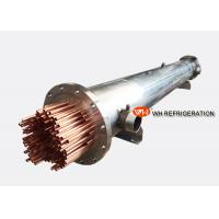 Wholesale Marine Refrigeration Shell and Tube Heat Exchanger , Water Cooled Evaporator from china suppliers