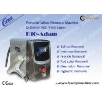 China 1064nm / 532nm Laser Tattoo Removal Machine For Eyebrow / Speckle Removal for sale