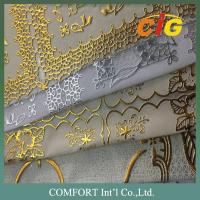 China Eco - Friendly PVC Vinyl Tablecloth Plastic Lace Tablecloth Rolls / PVC Table Cover on sale