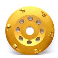 Wholesale Wear Resistant Hard PCD Diamond Cup Wheels For Coatings Removing from china suppliers