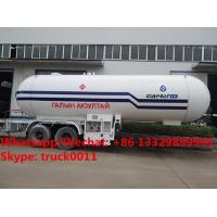 HOT SALE! lower price with higher quality 2018s new designed 20MT bulk propan gas tank semitrailer, lpg gas tank trailer for sale