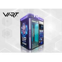 Quality 4KW Virtual Reality Gaming Machine / 9D VR Cinema Simulator with 8Pcs Games for sale