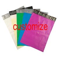 Wholesale Custom Logo Print Poly Mailer Colored Poly Courier Express Bags from china suppliers