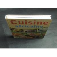 Wholesale Health Note Book / Cook Book Printing Pantone Color A4 B5 Case Bound Spot UV from china suppliers