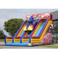 Wholesale Exciting Car 0.55mm PVC Adult Inflatable Slide For Rental Business from china suppliers
