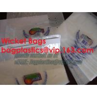 Wholesale wicketed bags, stapled bags, staple, wicketed poly bags,apparel bags, ice bag, apple bags from china suppliers