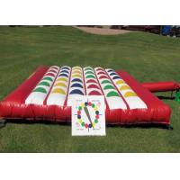 Wholesale Outdoor Inflatable Interactive Games , Giant Inflatable Twister Game from china suppliers