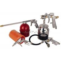 Quality 5PCS Auto Paint Gun Kits Suction Feed Type , air spray gun set for sale