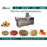 Wholesale DR70 High Quality Stainless Steel  Floating Fish Feed Double Screw Processing Line from china suppliers