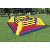 Wholesale Durable Inflatable Boxing Ring , PVC Material Inflatable Boxing Field on Land from china suppliers