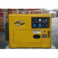 Customized 6kva Silent Residential Diesel Standby Generator Low Fuel Consumption for sale