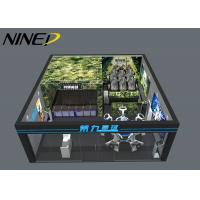 Buy cheap Multiplayer Shooting Vr Space Standing Platform Vr Zone 9D Virtual Reality Vr from wholesalers