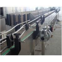 Quality Stainless Steel Sterilizing Bottle Conveyor Systems Pet Juice Bottle Neck Tilting for sale