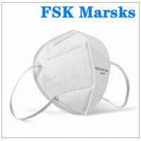 Wholesale Foldable Earloop KN95 Face Mask 5 Layer Against Non Oily Suspended Particles from china suppliers