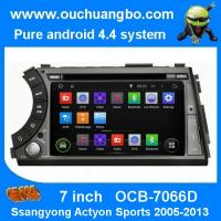 Wholesale Ouchuangbo Car GPS Stereo Media Ssangyong Actyon Sports 2005-2013 Android 4.4 brazil map from china suppliers