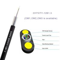 Wholesale Gyfxty Outdoor Non Metallic Fiber Optic Cable 12 Core Single Mode G652D 30M Span Length from china suppliers