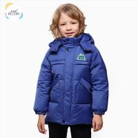 Go Outdoors Windbreaker Warm Boys Padded Fashion Child Trench 3t Winter Jacket Stylish Coat For Boy for sale