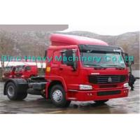 Wholesale 290HP Manual Prime Mover Truck , SINOTRUK Howo 4X2 Tractor , Color Can Be Selected from china suppliers